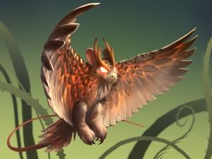 Red-Eyed Watcher Owl